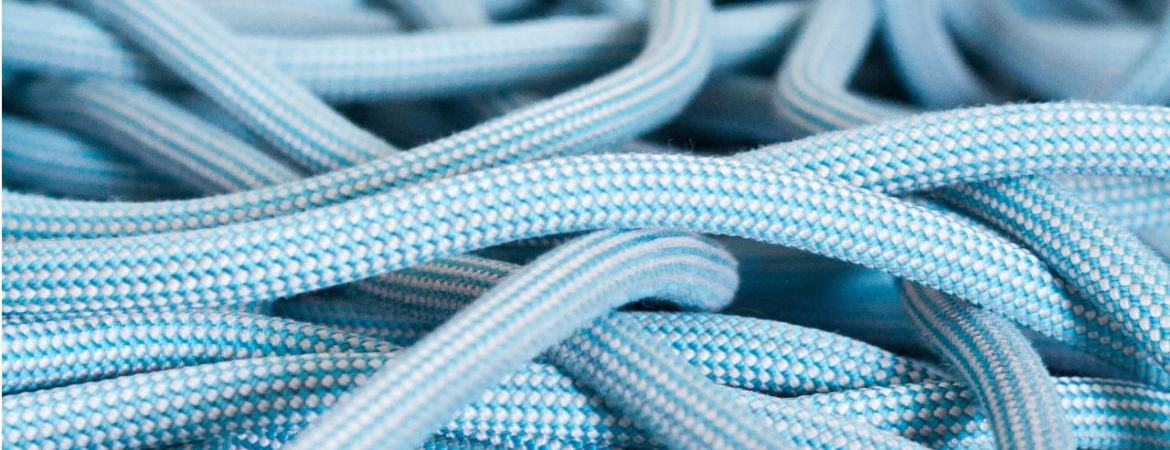 ready2climb: a stock image of climbing rope