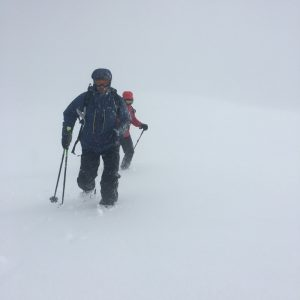 ready2climb: winter walking in whiteout conditions