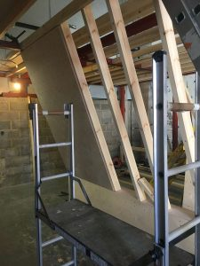 ready2climb: ply panels atached to a timber framework