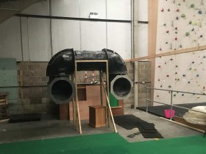 ready2climb: an empty space created for a new bouldering zone