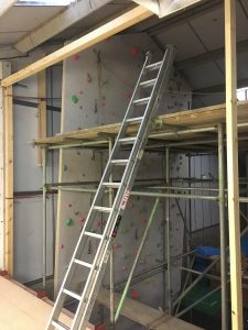ready2climb: the creation of the Eastern vertical wall