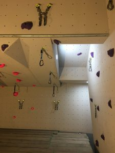 ready2climb: climbing surfaces showing a route